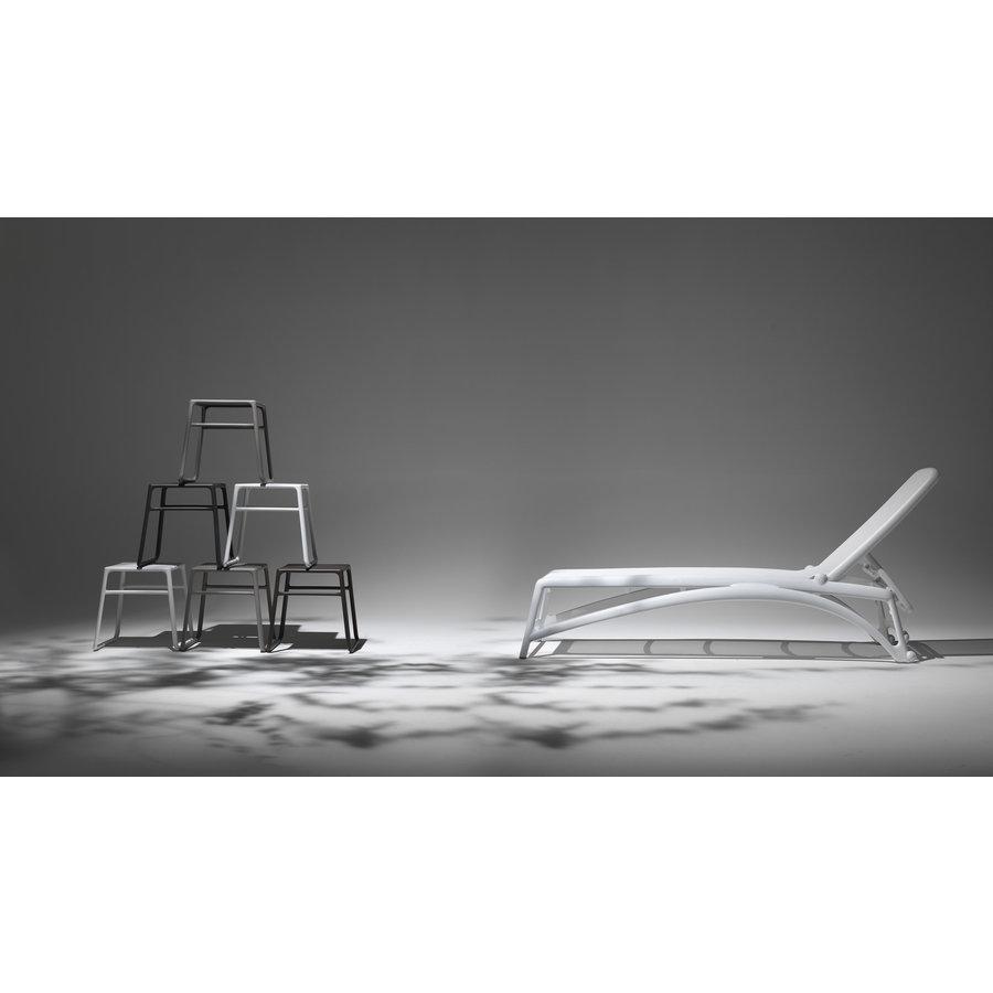 Ligbed - Atlantico - Antraciet/Blauw - Kunststof - Nardi-4