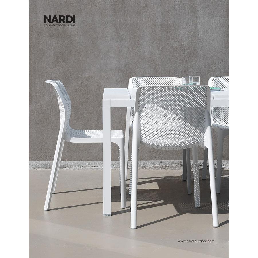 Tuintafel - RIO - Wit - Uitschuifbaar 210/280 cm - Nardi-6