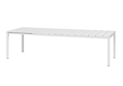 Tuintafel - RIO - Wit - Uitschuifbaar 210/280 cm - Nardi