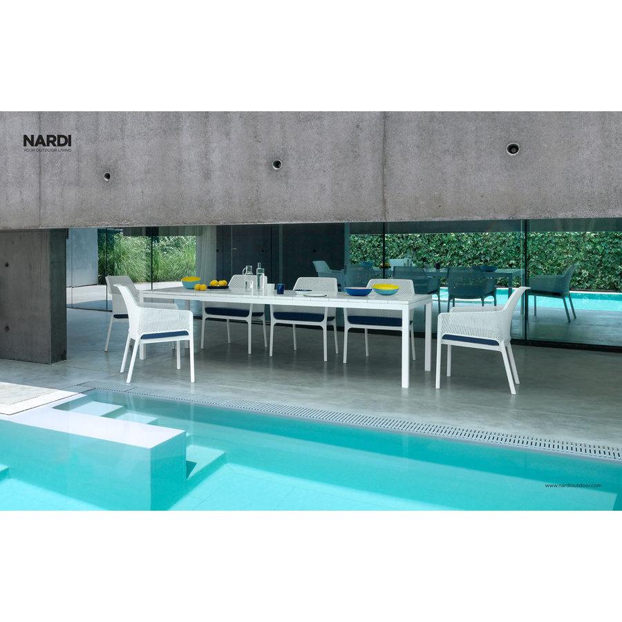 Tuintafel - RIO - Wit - Uitschuifbaar 210/280 cm - Nardi-3
