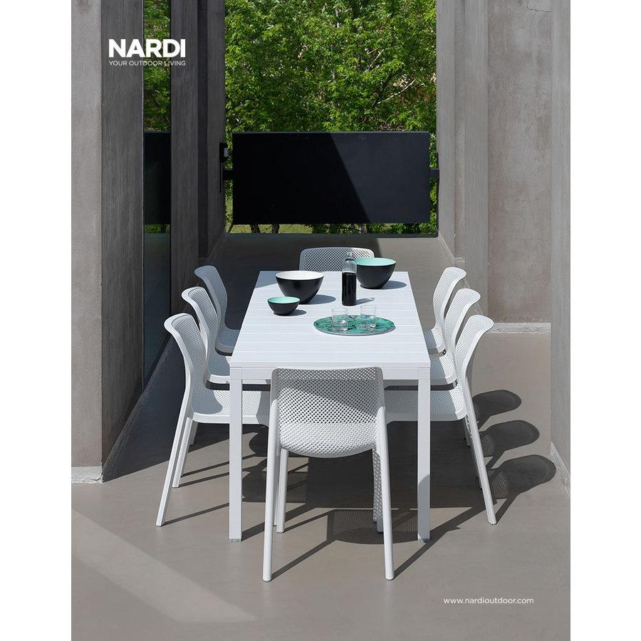 Tuintafel - RIO - Wit - Uitschuifbaar 210/280 cm - Nardi-5