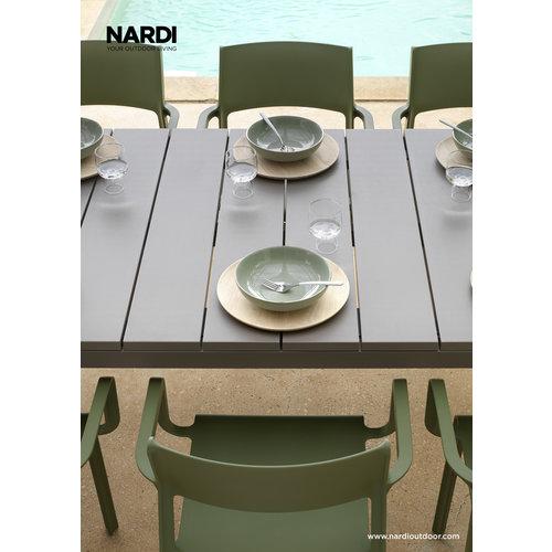 Nardi Tuintafel - RIO - Taupe - Tortora - Uitschuifbaar 210/280 cm - Nardi