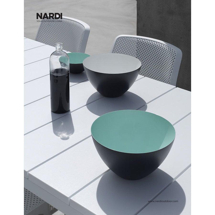 Tuintafel - RIO - Wit - Uitschuifbaar 140/210 cm - Nardi-6