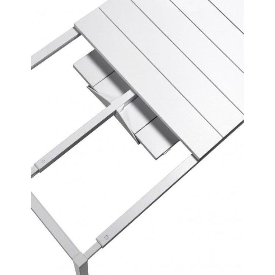 Tuintafel - RIO - Wit - Uitschuifbaar 140/210 cm - Nardi-8
