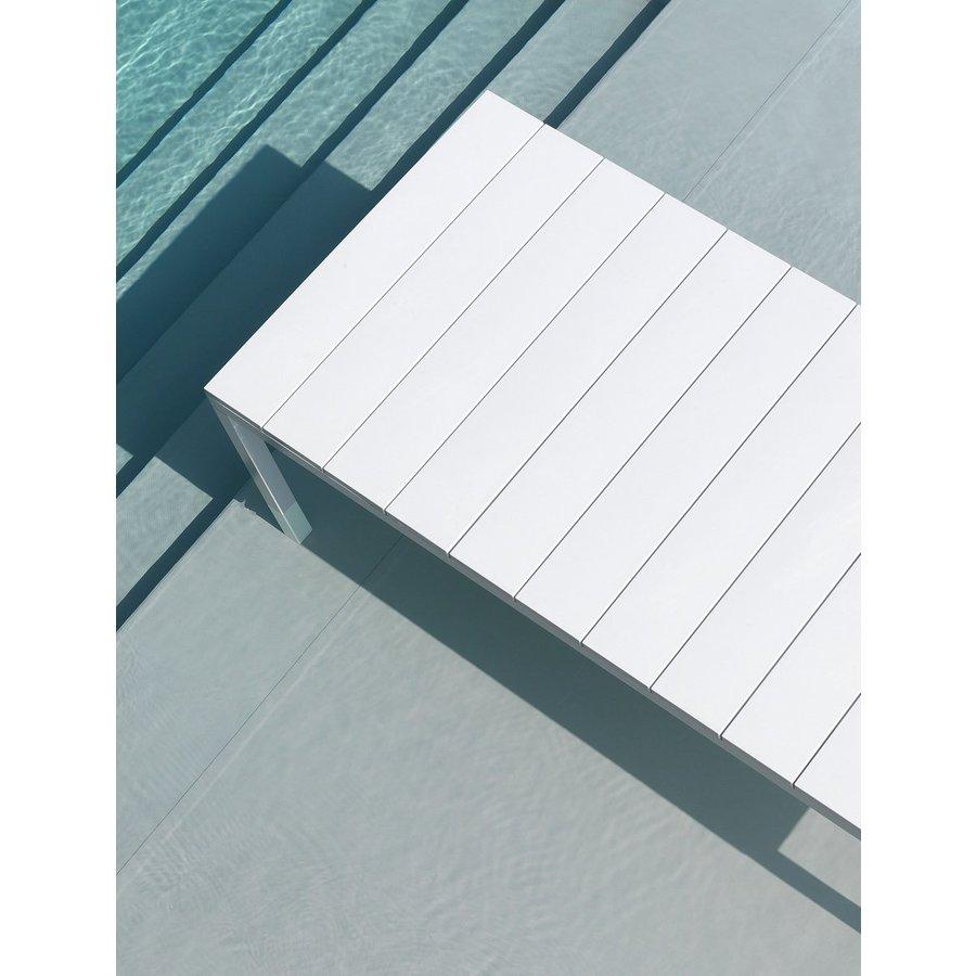 Tuintafel - RIO - Wit - Uitschuifbaar 140/210 cm - Nardi-4