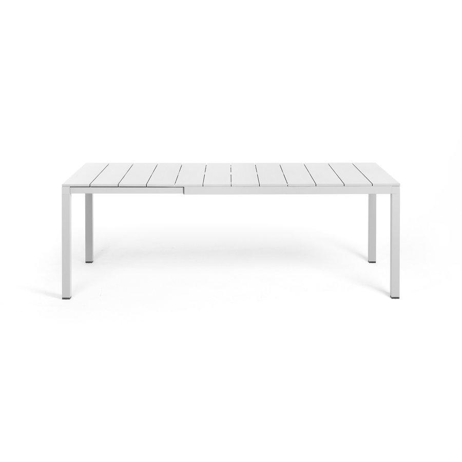 Tuintafel - RIO - Wit - Uitschuifbaar 140/210 cm - Nardi-2