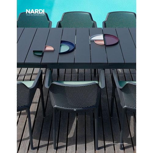 Nardi Tuintafel - RIO - Antraciet - Uitschuifbaar 140/210 cm - Nardi