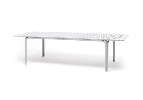 Tuintafel - Alloro - Wit - Uitschuifbaar 210/280 cm - Nardi
