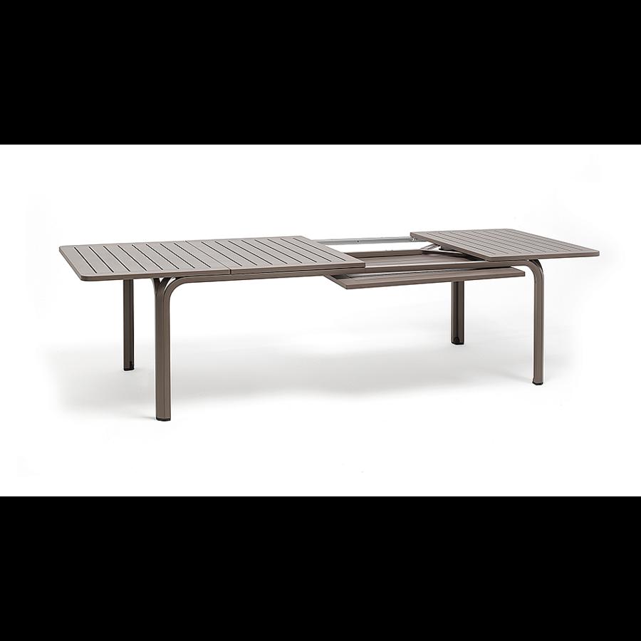 Tuintafel - Alloro - Wit/Taupe - Uitschuifbaar 210/280 cm - Nardi-7