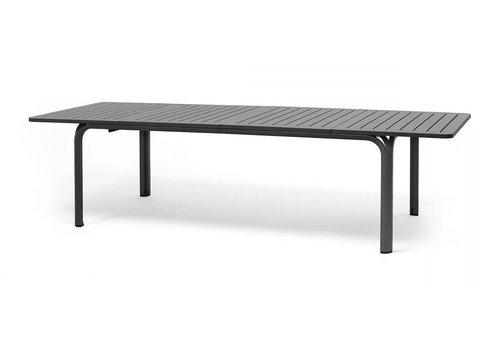 Tuintafel - Alloro - Antraciet - Uitschuifbaar 210/280 cm - Nardi