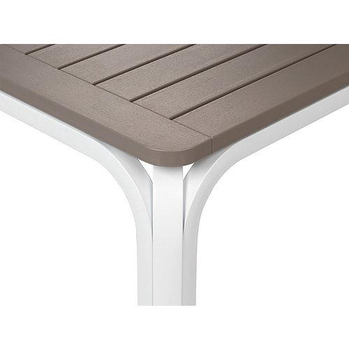 Nardi Tuintafel - Alloro - Wit/Taupe - Uitschuifbaar 210/280 cm - Nardi
