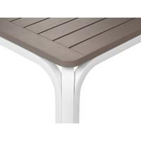 thumb-Tuintafel - Alloro - Wit/Taupe - Uitschuifbaar 140/210 cm - Nardi-8