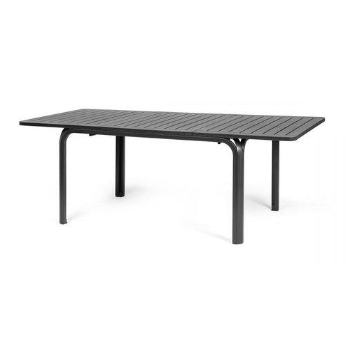 Nardi Tuintafel - Alloro - Antraciet - Uitschuifbaar 140/210 cm - Nardi