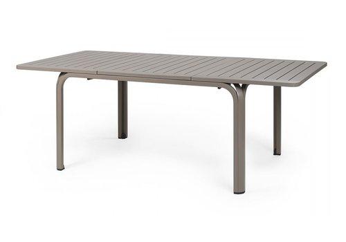 Tuintafel - Alloro - Taupe - Uitschuifbaar 140/210 cm - Nardi