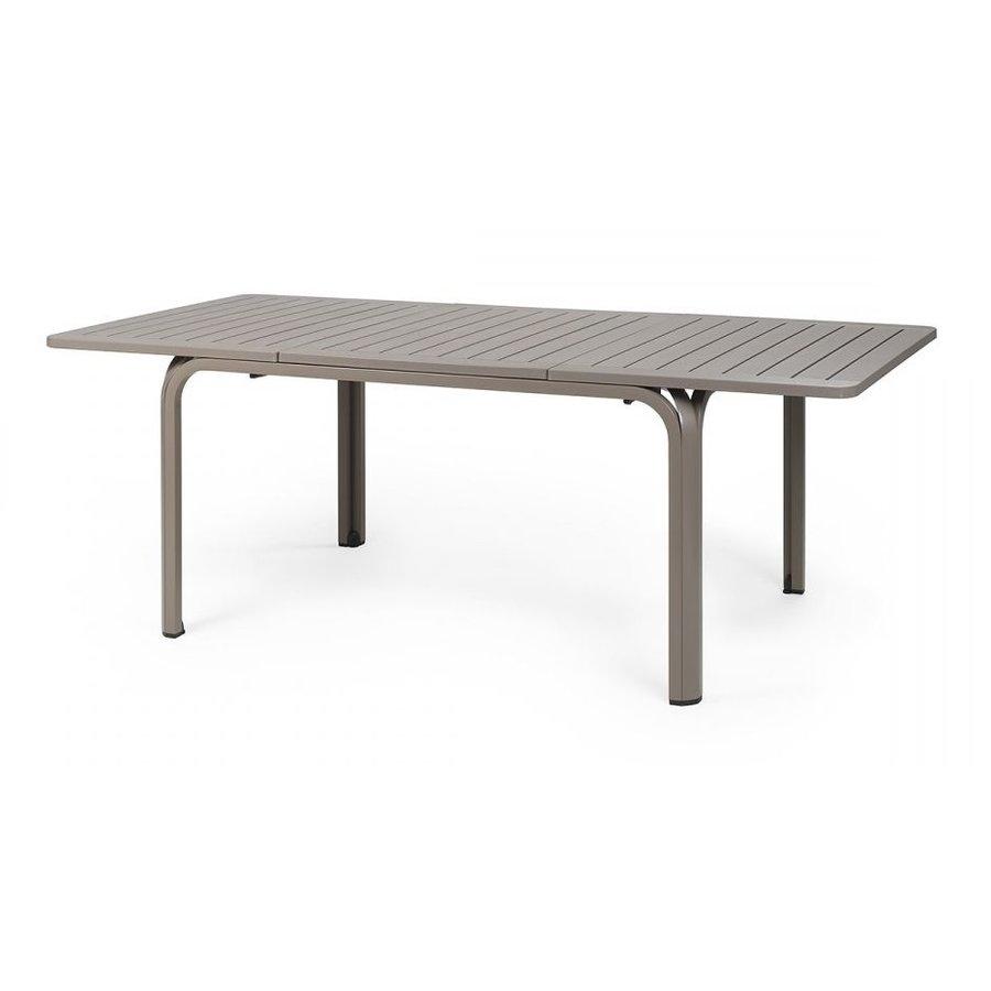 Tuintafel - Alloro - Taupe - Uitschuifbaar 140/210 cm - Nardi-1