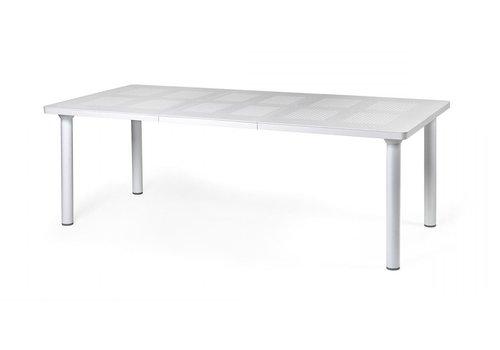 Tuintafel - Libeccio - Wit - Uitschuifbaar 160/220 cm - Nardi