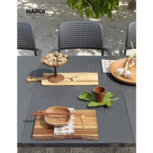 Nardi Tuintafel - Libeccio - Koffie Bruin - Uitschuifbaar 160/220 cm - Nardi
