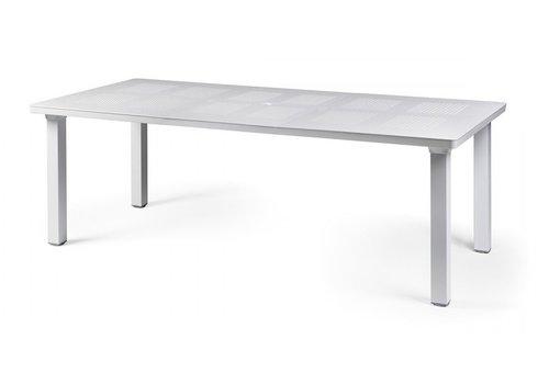 Tuintafel - Levante - Wit - Uitschuifbaar 160/220 cm - Nardi