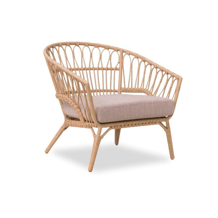 Stoel-Bank Loungeset - Lenco - Bamboo Look - Wicker - Garden Interiors-4