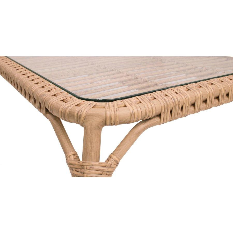 Stoel-Bank Loungeset - Lenco - Bamboo Look - Wicker - Garden Interiors-6
