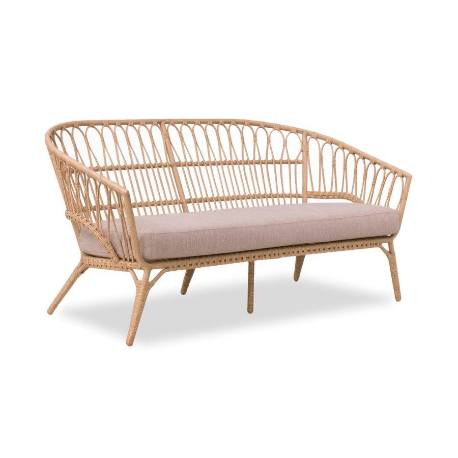 Stoel-Bank Loungeset - Lenco - Bamboo Look - Wicker - Garden Interiors-2