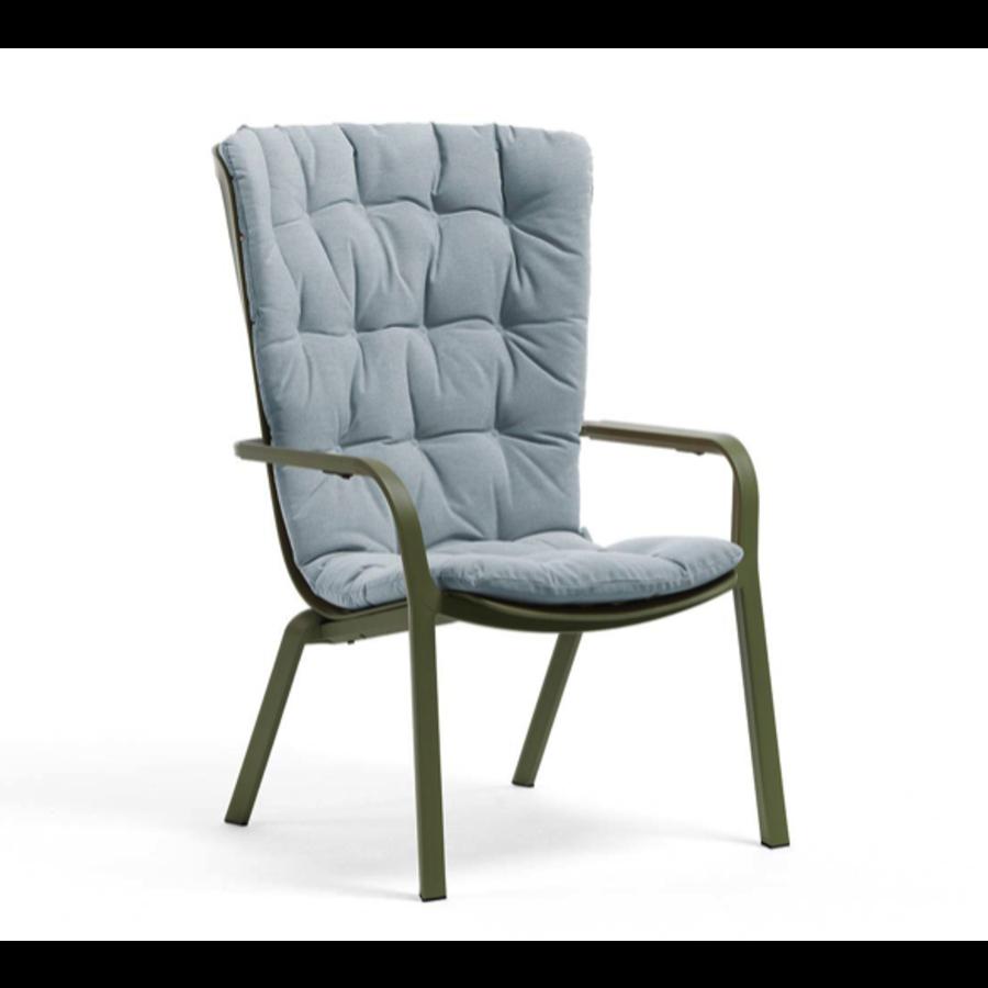 Kussen - Relaxfauteuil - FOLIO Comfort - Blauw - Nardi-1