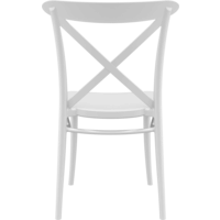 thumb-Tuinstoel - Stapelbaar - Wit - Cross - Siesta-5