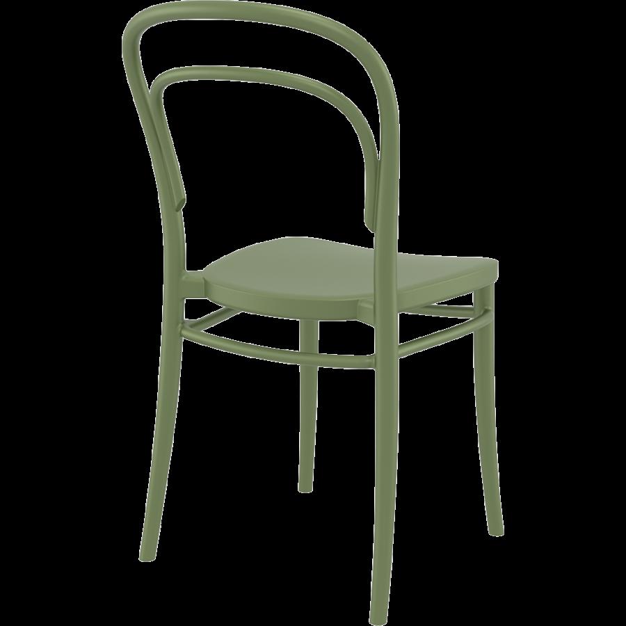 Tuinstoel - Stapelbaar - Olijf Groen - Marie - Siesta-5