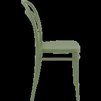 thumb-Tuinstoel - Stapelbaar - Olijf Groen - Marie - Siesta-6