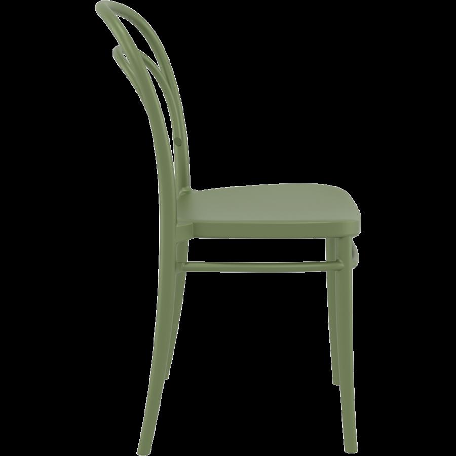 Tuinstoel - Stapelbaar - Olijf Groen - Marie - Siesta-6