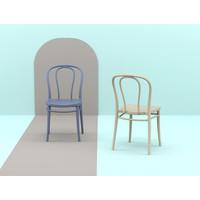 thumb-Tuinstoel - Stapelbaar - Zwart - Victor - Siesta-7