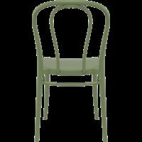 thumb-Tuinstoel - Stapelbaar - Olijf Groen - Victor - Siesta-6