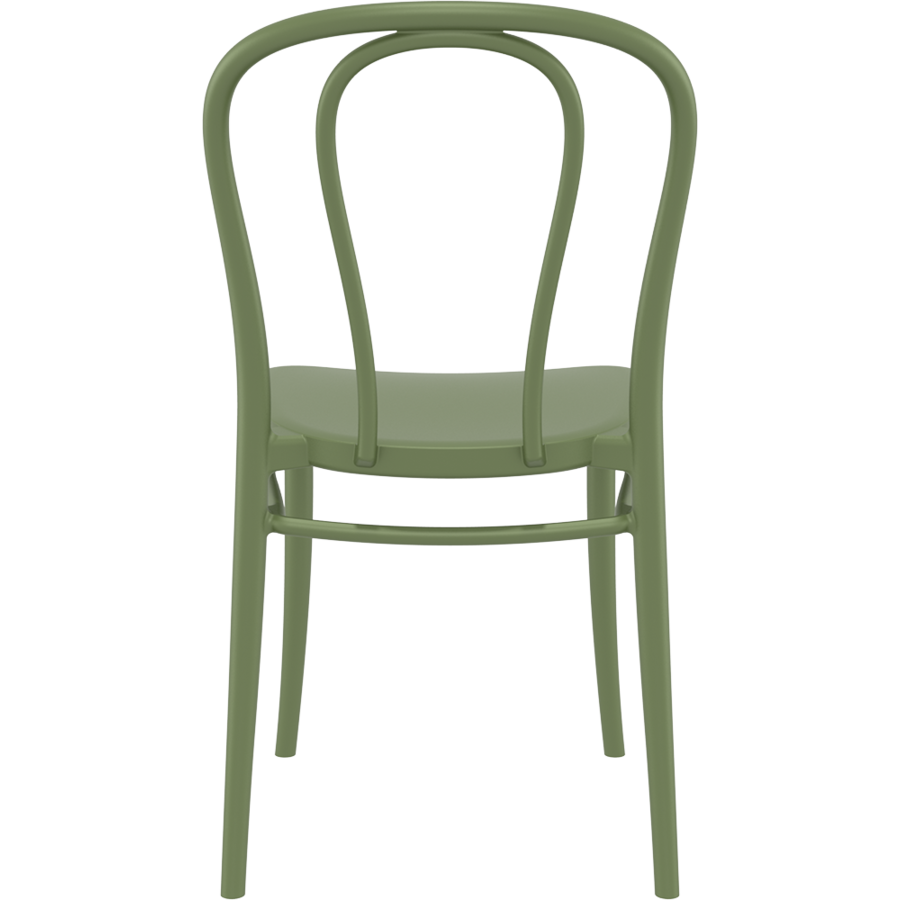 Tuinstoel - Stapelbaar - Olijf Groen - Victor - Siesta-6