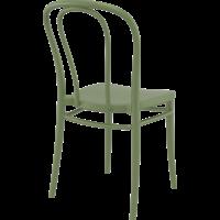 thumb-Tuinstoel - Stapelbaar - Olijf Groen - Victor - Siesta-7