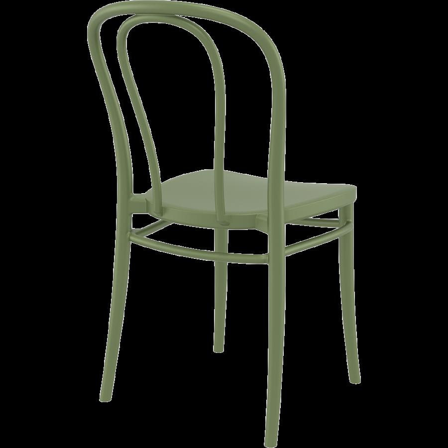 Tuinstoel - Stapelbaar - Olijf Groen - Victor - Siesta-7