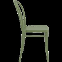thumb-Tuinstoel - Stapelbaar - Olijf Groen - Victor - Siesta-8