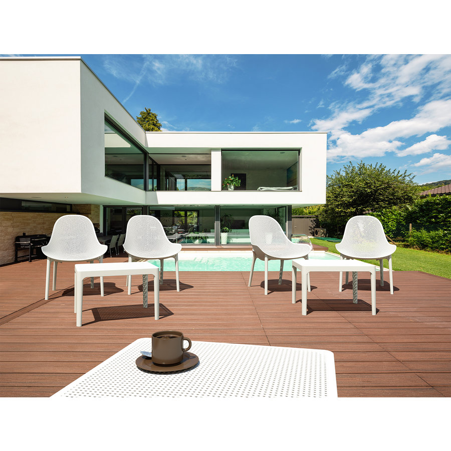 Tuinstoel - Sky Lounge - Rood - Siesta Exclusive-9