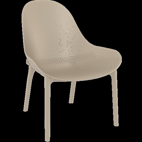 Siesta Exclusive Tuinstoel - Sky Lounge - Taupe - Siesta Exclusive