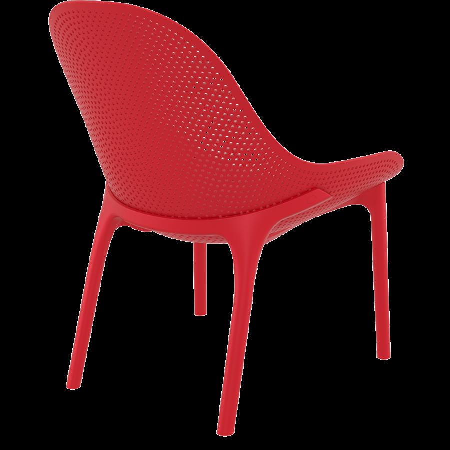 Tuinstoel - Sky Lounge - Rood - Siesta Exclusive-6