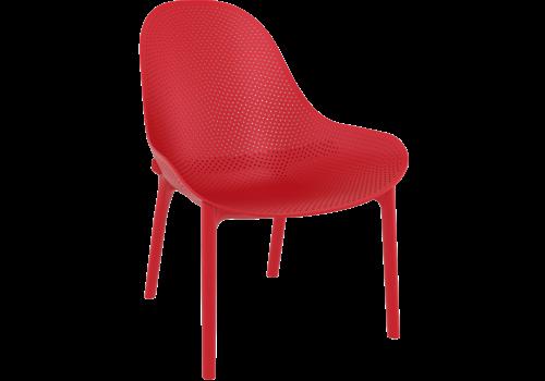 Tuinstoel - Sky Lounge - Rood - Siesta Exclusive