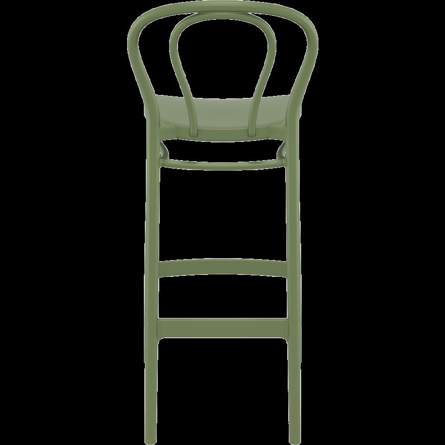 Barkruk - 75 cm - Victor - Olijf Groen - Siesta-6