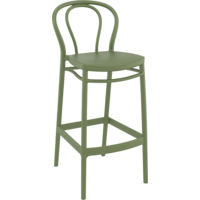 Barkruk - 75 cm - Victor - Olijf Groen - Siesta