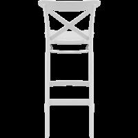 thumb-Barkruk - 75 cm - Cross - Wit - Siesta-5