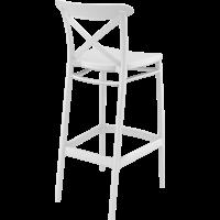 thumb-Barkruk - 75 cm - Cross - Wit - Siesta-6