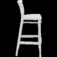 thumb-Barkruk - 75 cm - Cross - Wit - Siesta-7