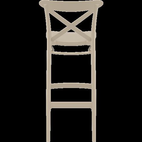 Siesta  Barkruk - 75 cm - Cross - Taupe - Siesta