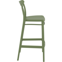 thumb-Barkruk - 75 cm - Cross - Olijf Groen - Siesta-7