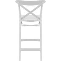 thumb-Counter Barkruk - 65 cm - Cross - Wit - Siesta-5