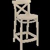 Siesta  Counter Barkruk - 65 cm - Cross - Taupe - Siesta