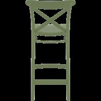 thumb-Counter Barkruk - 65 cm - Cross - Olijf Groen - Siesta-5